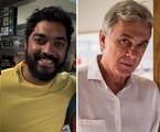 Thomás Aquino e Zécarlos Machado | Reprodução/Instagram e TV Globo/Divulgação