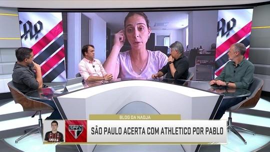 """Nadja explica saída de Pablo do Athletico: """"Ele queria ficar no Brasil e optou pelo São Paulo"""""""