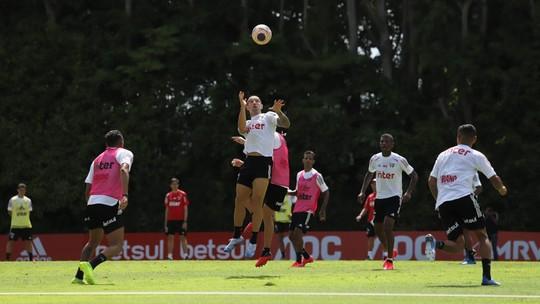 Antony fora, treino e golaço de Arboleda: como foi a terça-feira do São Paulo