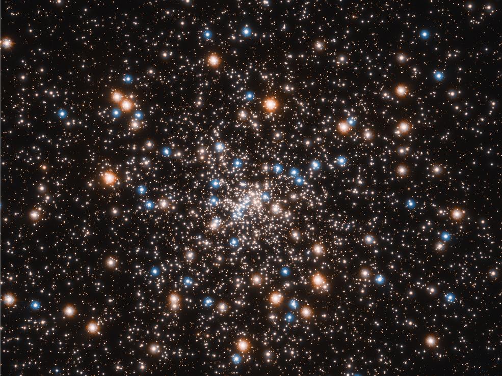 Imagem captada pelo telescópio Hubble (Foto: Divulgação/NASA)