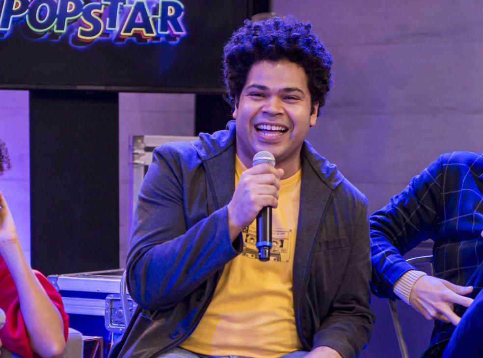 Robson Nunes está animado para soltar a voz no 'PopStar' — Foto: Artur Meninea / Gshow