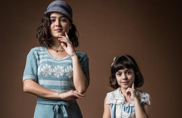 Giullia Buscacio interpretará Isabel (papel de Maju Lima na primeira fase). Caçula da família Lemos, ela se tornará uma jovem que busca não se enquadrar nas regras da época (Foto: TV Globo)
