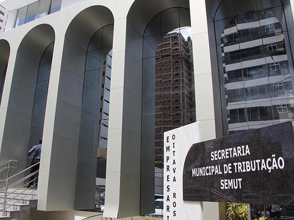 Sede da Secretaria  Municipal de Tributação: últimos dias para descontos e parcelamentos (Foto: Alex Régis)