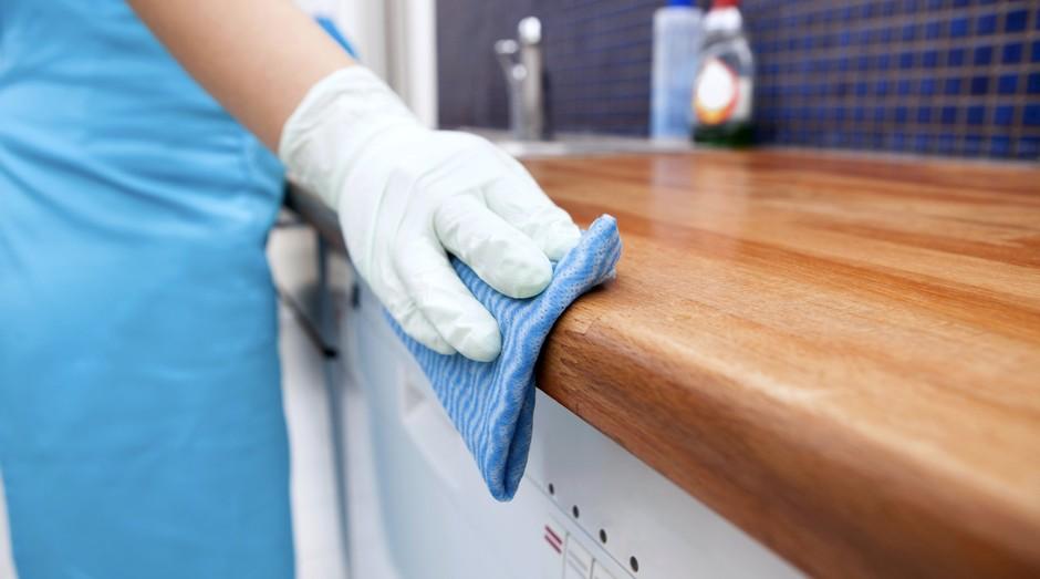 limpeza; empregada doméstica (Foto: ThinkStock)