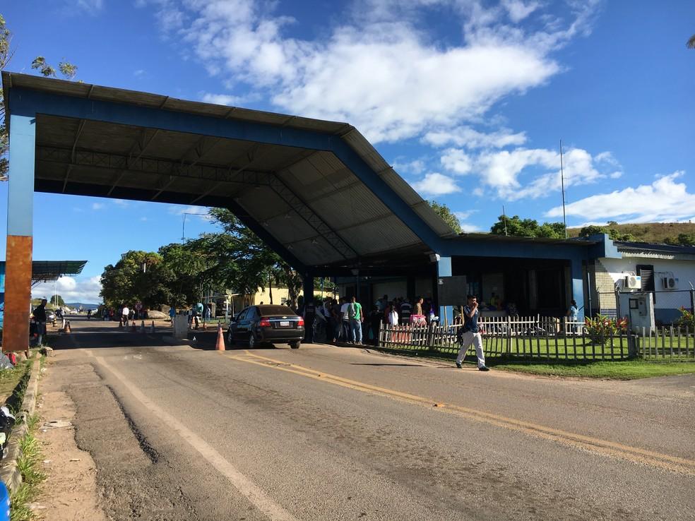 -  Agentes vão atuar na fronteira entre Brasil e Venezuela, em Pacaraima  Foto: Emily Costa/G1 RR/Arquivo