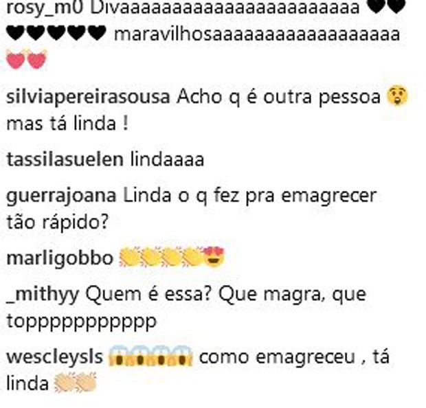 Fãs se surpreendem com nova silhueta de Marilia Mendonça (Foto: Reprodução/Instagram)