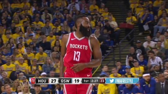 Inspirado, Klay Thompson comanda a vitória dos Warriors sobre os Rockets