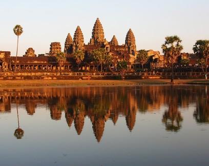 Mais de 700 mil pessoas viveram no auge deste império medieval no Camboja