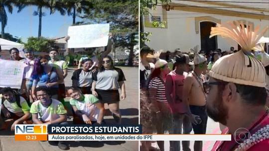 Recife e outras cidades têm atos contra bloqueios de verbas na educação