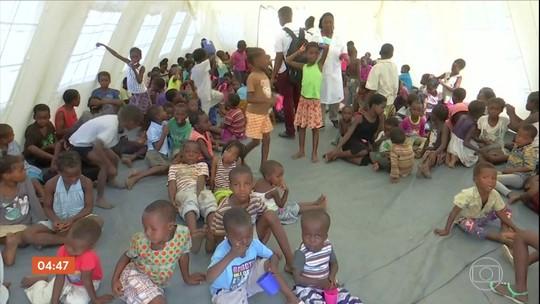 Quase 150 casos de suspeita de cólera são registrados no litoral de Moçambique