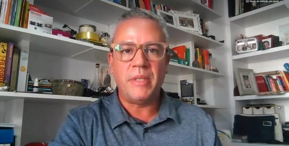 O epidemiologista Rafael Moreira, da Fiocruz-PE, alertou que prognóstico para maio não é bom — Foto: Reproduçãio/TV Globo