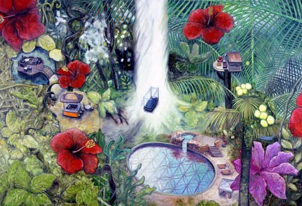Filho de japoneses, o artista traz para a Japan House as suas visões do paraíso (Foto: Divulgação)