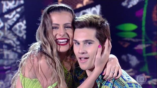 Nicolas Prattes e Mayara Araújo no Dança dos Famosos (Foto: Divulgação/TV Globo)