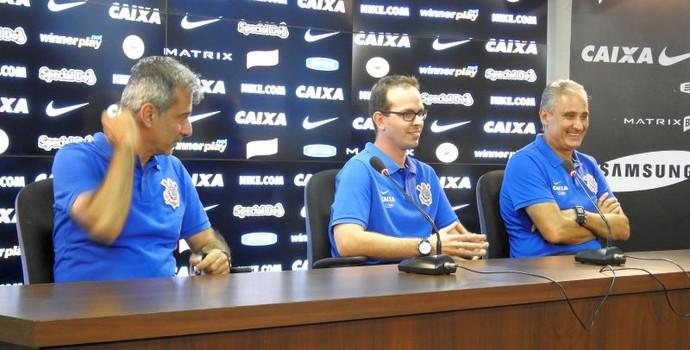 Tite comissão técnica Corinthians (Foto: Diego Ribeiro)