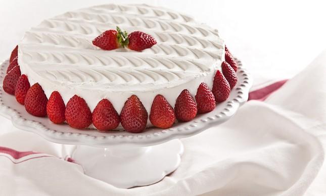 Torta & Cia: maravilha de morango