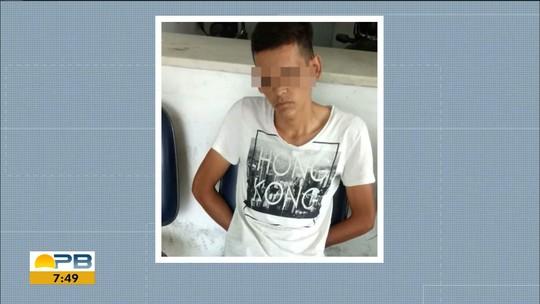 Jovem é preso suspeito de matar namorada adolescente e queimar corpo, no Cariri da PB