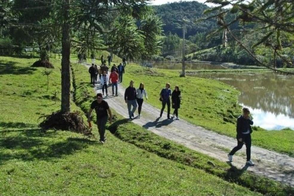 Turismo em Agrolândia (Foto: Prefeitura de Agrolândia/Divulgação)