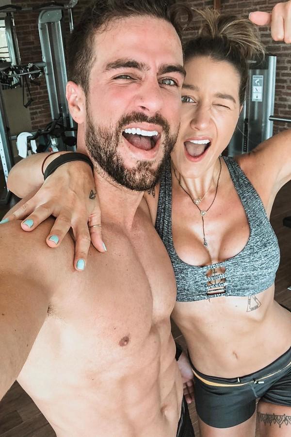 Erasmo e Gabriela Pugliesi (Foto: Instagram/Reprodução)