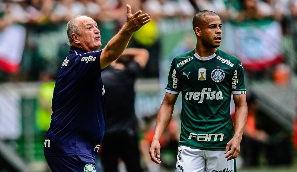 Felipão recolocou o Palmeiras na disputa por títulos — Foto: Renato Pizzutto/BP Filmes