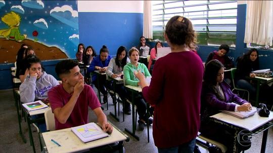 Carreira de professor atrai 14% dos jovens entre 15 e 19 anos