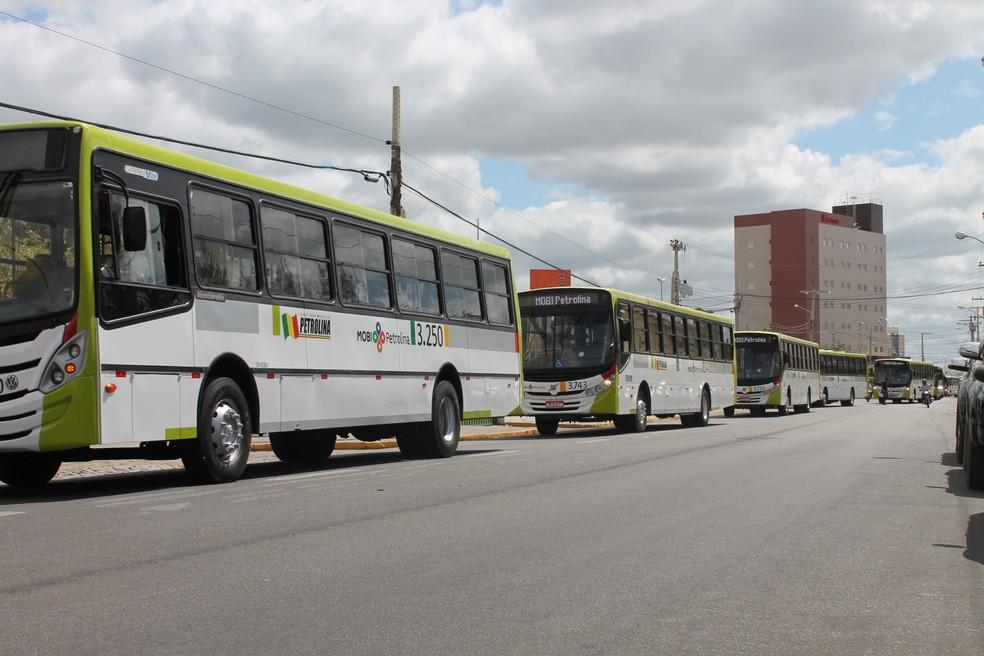 Passageiros pagarão mais caro pela passagem de ônibus, em Petrolina.  (Foto: Taisa Alencar / G1)