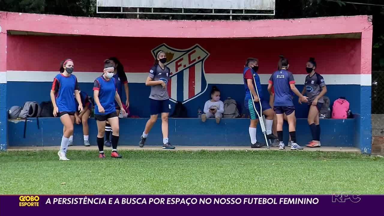 Luta das atletas faz o futebol feminino paranaense se manter