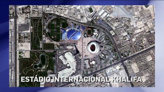 Imagens de satélite sugerem: embargo afeta obras em estádios da Copa do Catar