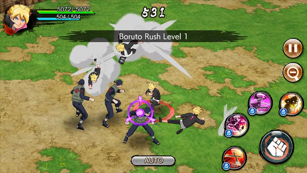 Naruto x Boruto Ninja Voltage — Foto: Divulgação/Google Play
