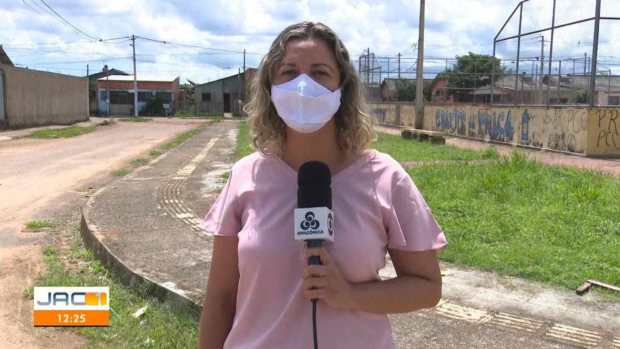 Aline Vieira fala direto do bairro Cidade do Povo, em Rio Branco