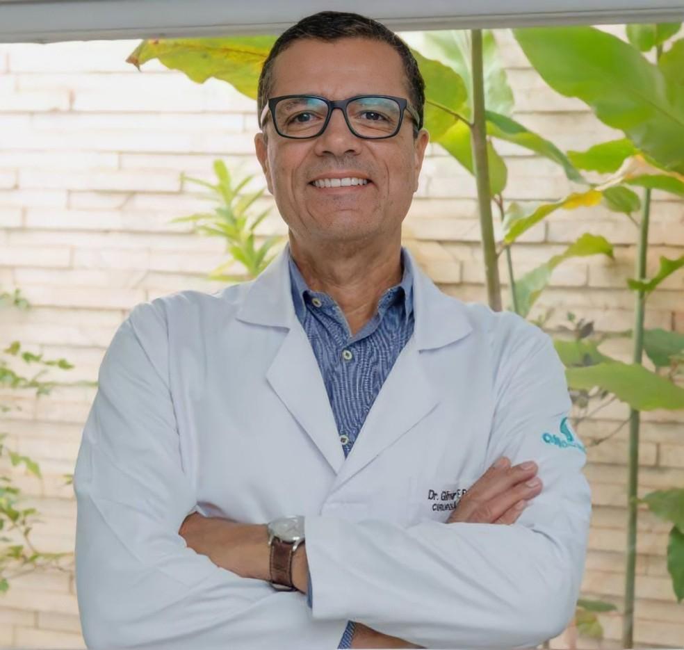 Dr. Gilmar Ferreira do Espírito Santo (CRM/MT 2535 | RQE: 1317 – 839), cirurgião oncológico há 30 anos, professor universitário, doutor em medicina e um dos fundadores da Oncomed, em Cuiabá (MT).  — Foto: Reprodução