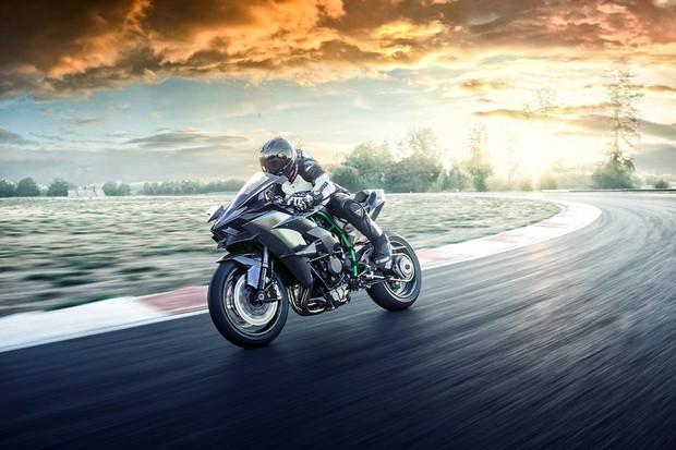 Kawasaki Ninja H2R 2019 (Foto: divulgação)