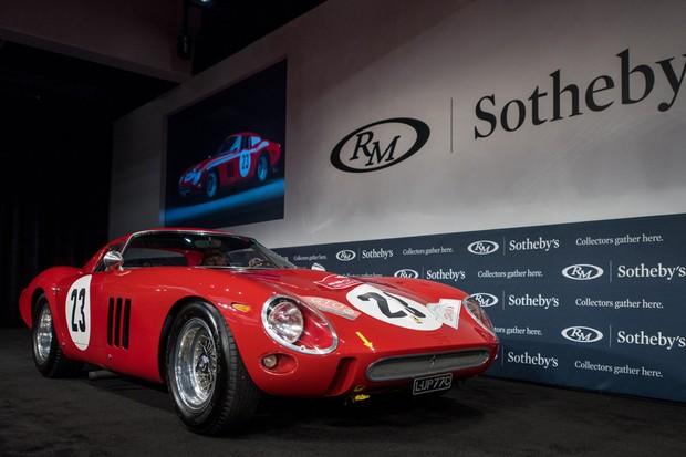 Ferrari 250 GTO bateu o recorde leilões  (Foto: Divulgação)