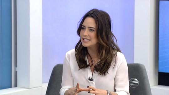 Atriz Fernanda Vanconcellos fala sobre espetáculo em cartaz em Salvador