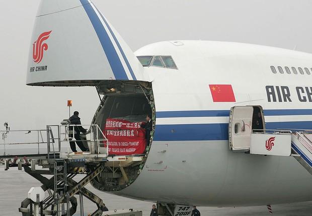 Aeronave da Air China (Foto: China Photos/Getty Images)