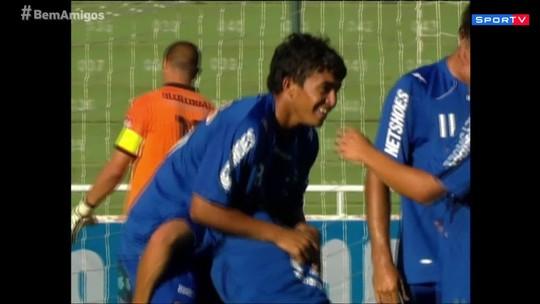 Bem, Amigos! lembra quando Roger e Dudu jogaram juntos no Cruzeiro
