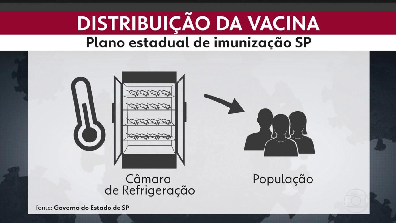 Governo de São Paulo divulga detalhes sobre plano estadual de imunização contra a Covid-19
