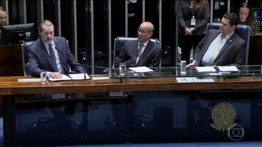 Senado faz sessão solene em homenagem aos 54 anos da TV Globo