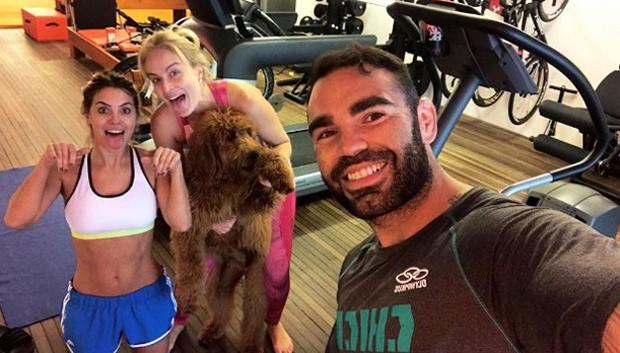 Carolina Dieckmann, Angélica e Chico Salgado (Foto: Reprodução/Instagram)