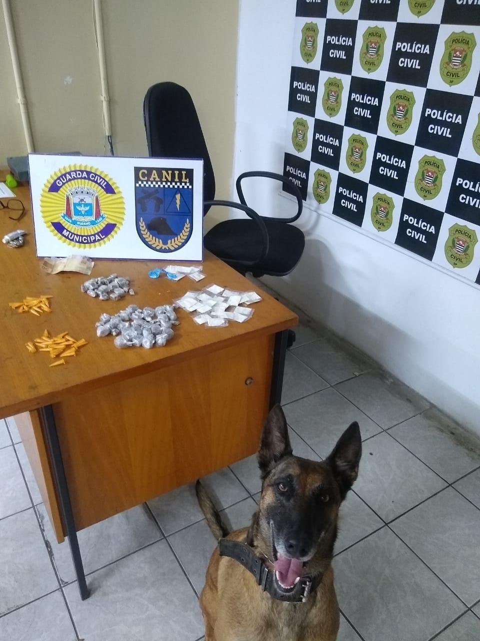 Guarda Municipal apreende drogas e dinheiro em diferentes bairros de Suzano