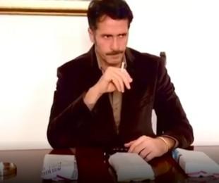 Cristian Stelutti durante audição para 'Rio Connection'   Reprodução