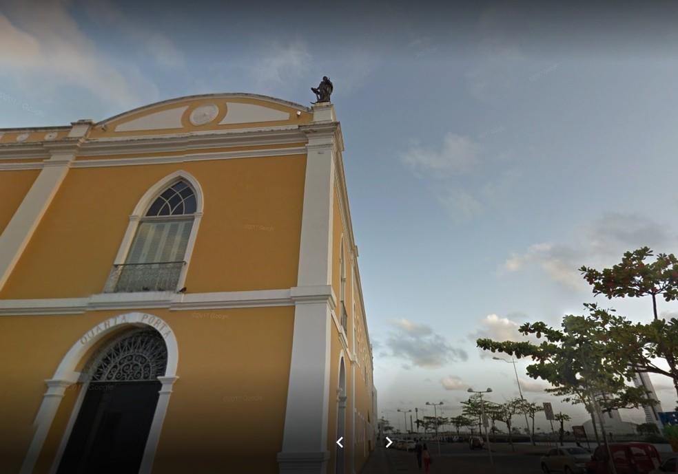 Paço Alfândega fica no Bairro do Recife, no Centro — Foto: Reprodução/Google Street View