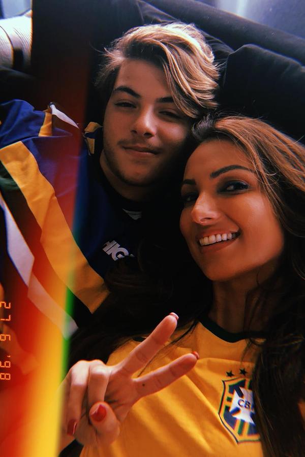 Patricia e Felipe Poeta (Foto: Reprodução/Instagram)