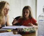 Angélica com a filha Eva | Arquivo pessoal
