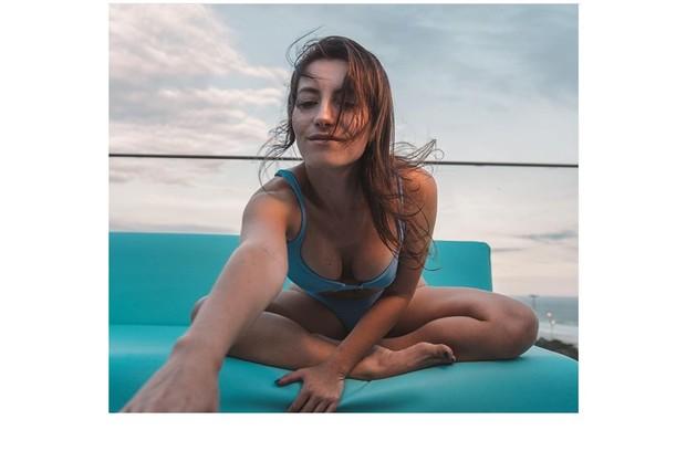 Linda Gomes em foto compartilhada em seu Instagram (Foto: Reprodução)