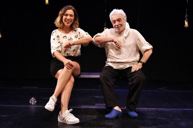 Júlia Rabello e Pedro Paulo Rangel (Foto: Cristina Granato)
