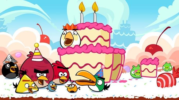Angry Birds completa seu 5º aniversário como uma das maiores franquias dos jogos (Foto: Taringa)