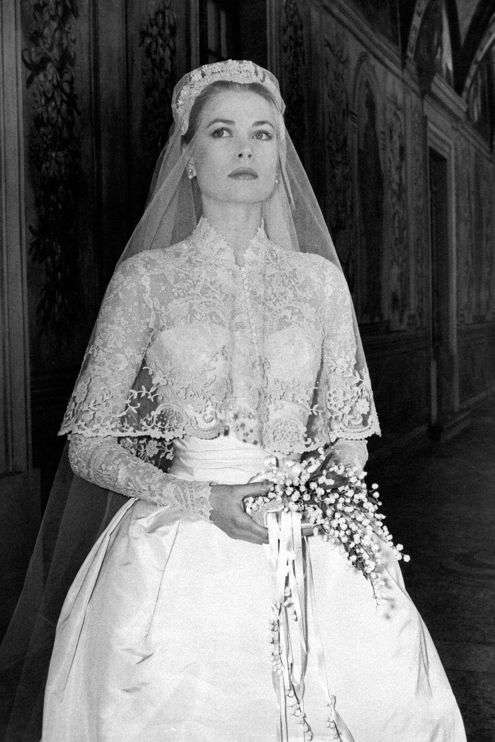 Grace em seu casamento (Foto: Wikimedia)