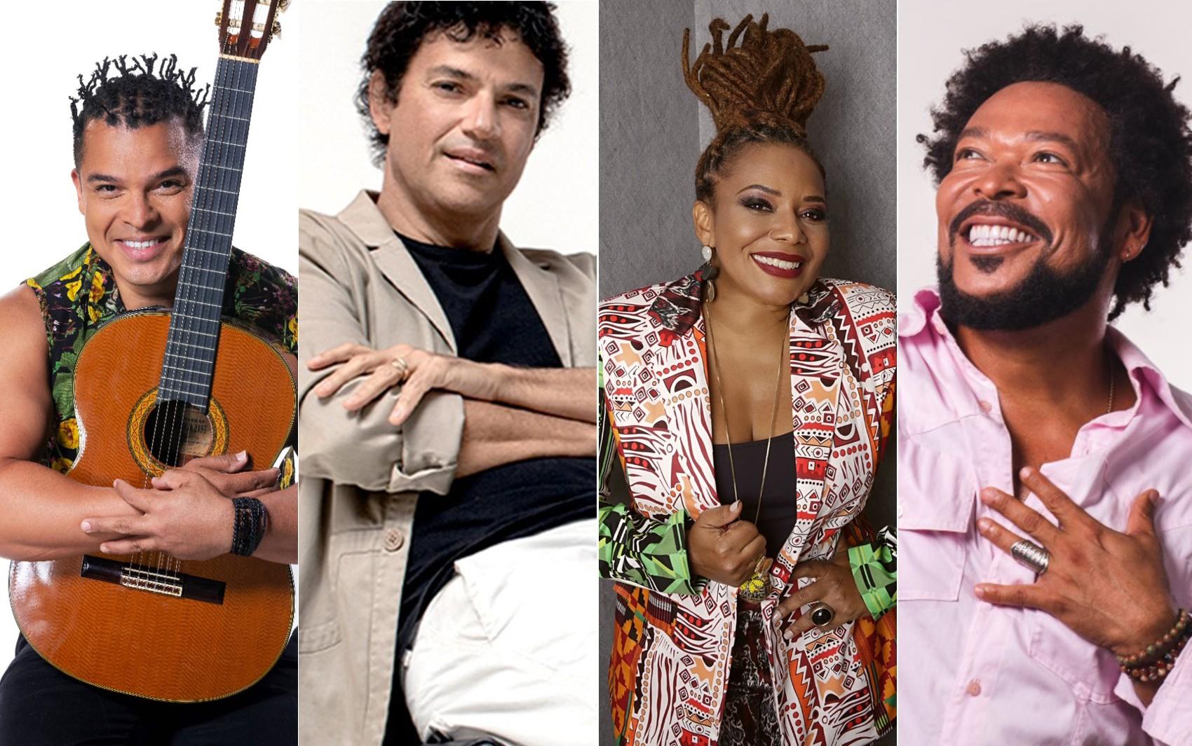 Edição online do Festival de Lençóis terá shows de Jau, Jorge Vercillo, Adelmo Casé e Margareth Menezes; confira programação