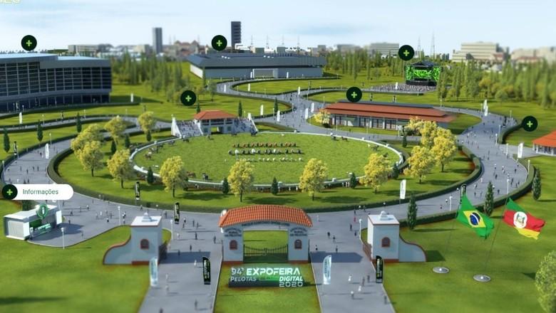 """Expofeira de Pelotas terá """"parque virtual"""" (Foto: Divulgação)"""