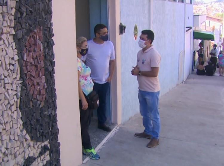 Eleições 2020: Sargento Silveira visita comunidade católica do bairro São João em Pouso Alegre, MG